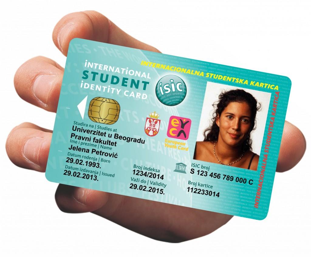 studentske kartice, cip kartice